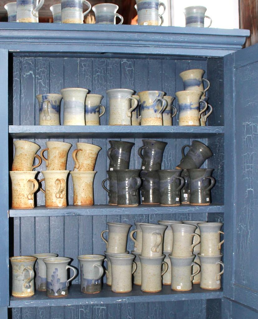 Jon Partridge pottery mugs