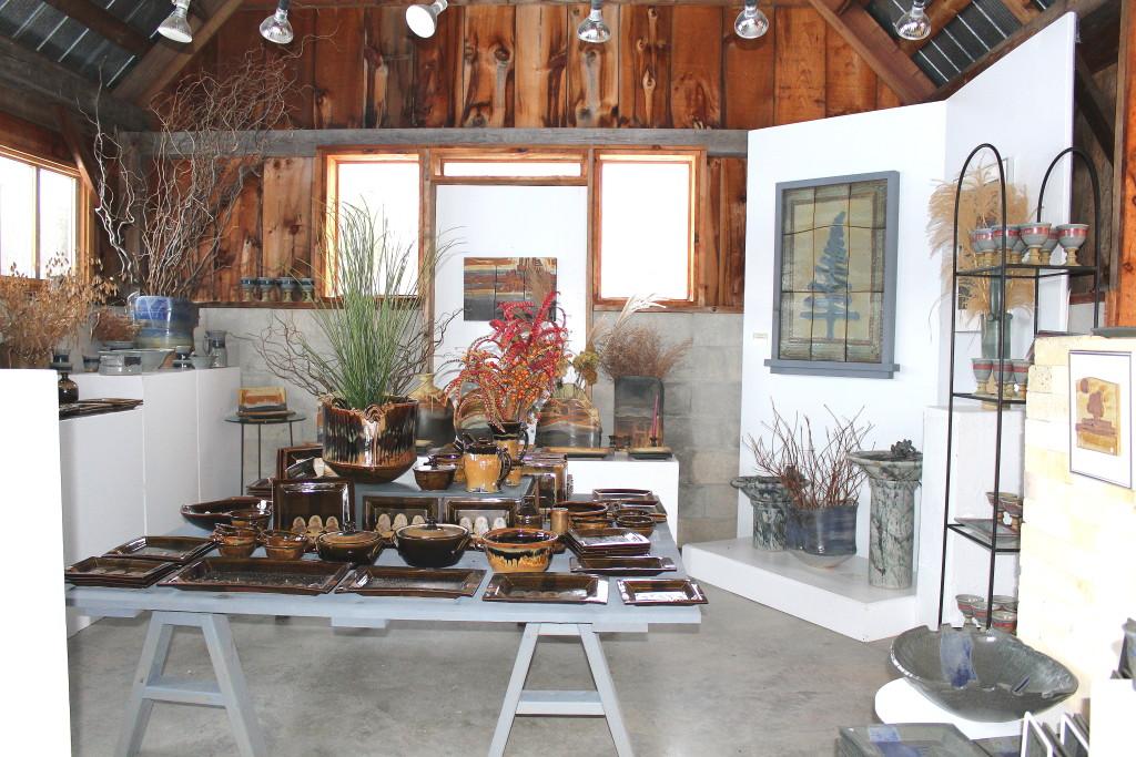Jon Partridge studio pottery